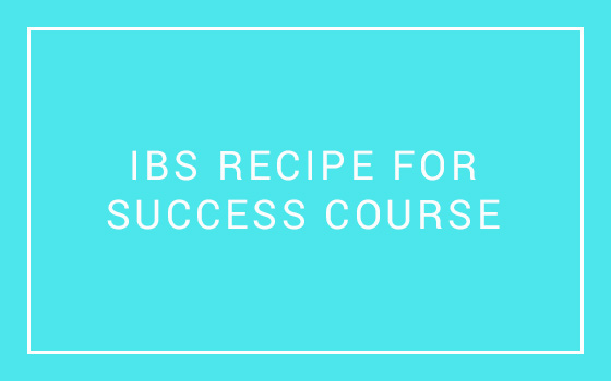 IBS Recipe for Success