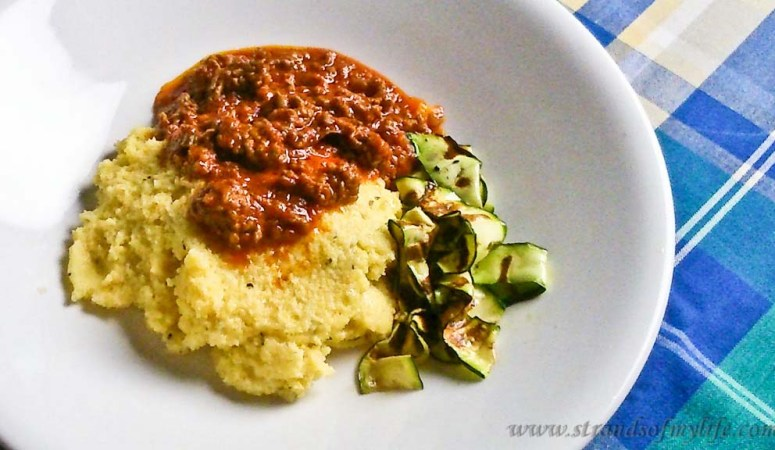 Savoury Polenta – Low Fodmap and Gluten-free