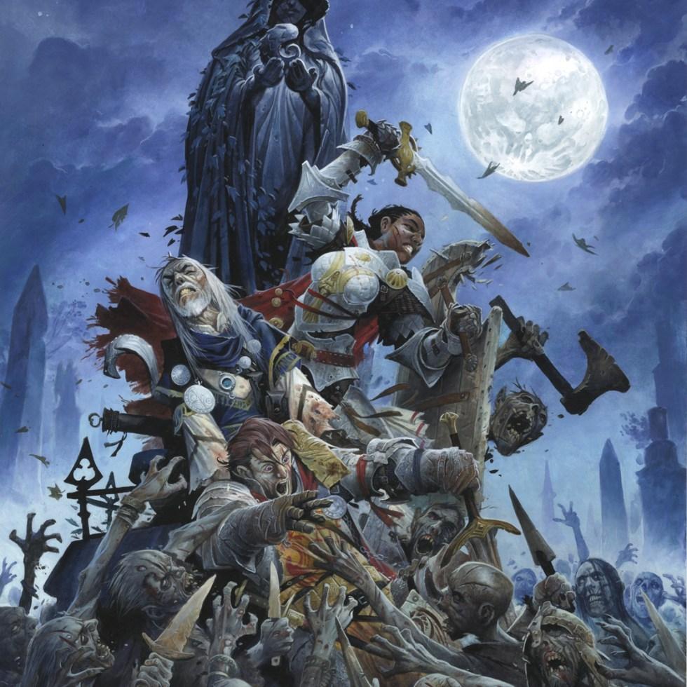 horror adventure cover art