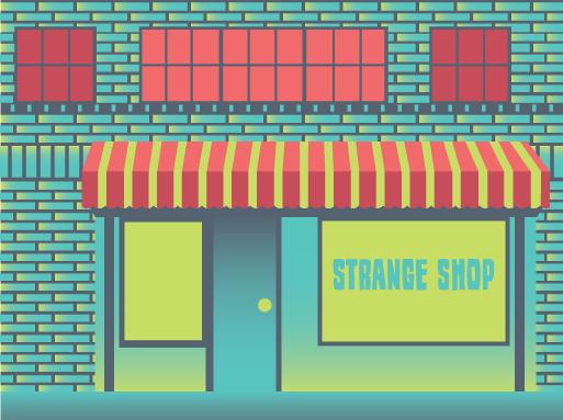 strange shop