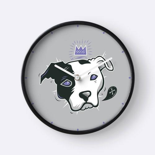 pitbulls clock