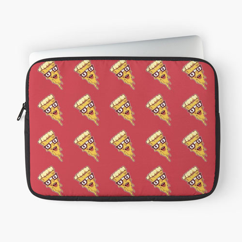 pizza laptop sleeve