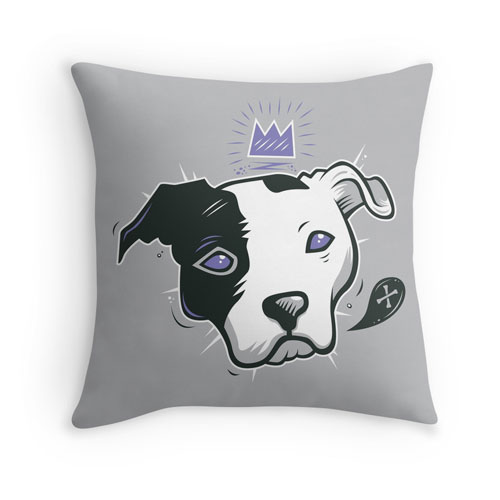 pitbulls pillow