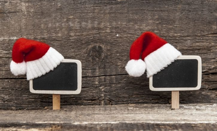 48639937 - christmas decoration over wooden background