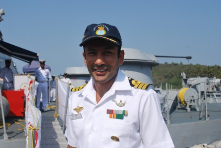 Here's why. The captain of the Cankarso, Arun Bahuguna. He's the man who captured so many pirates. Those buccaneers should've know better than to tangle with a Marine Commando who has topped the US Navy SEAL course.