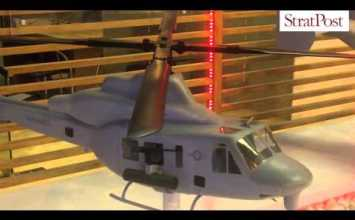 Video: Bell aircraft showcased at Aero India