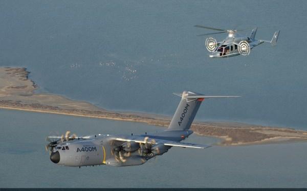 46. A400M & Eurocopter X3