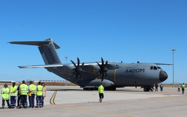 Airbus A400M at Seville, Spain   Photo: StratPost