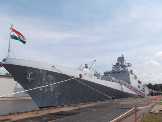 The INS Trikand   Photo: Indian Navy
