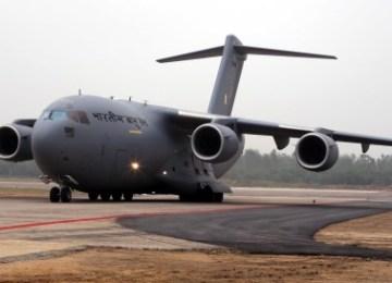 2nd IAF C-17 delivered