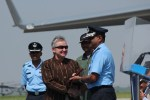 US Ambassador to India, Nancy Powell with Group Captain BS Reddy and Air Chief Marshal NAK Browne | StratPost