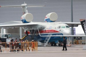A Beriev Be-200 at the Singapore Airshow in 2012 | Photo: StratPost