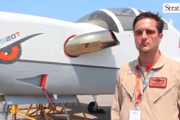 Video: Grob G520T at #LIMA2015