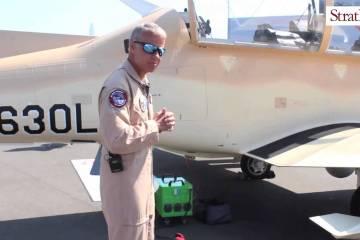 Video: Beechcraft AT-6 Wolverine at #PAS15