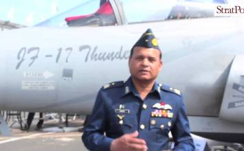Video: PAF JF-17 at #PAS15