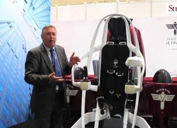 Video: Martin Jetpack at #PAS15
