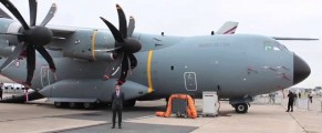 Video: Airbus A400M at #PAS15