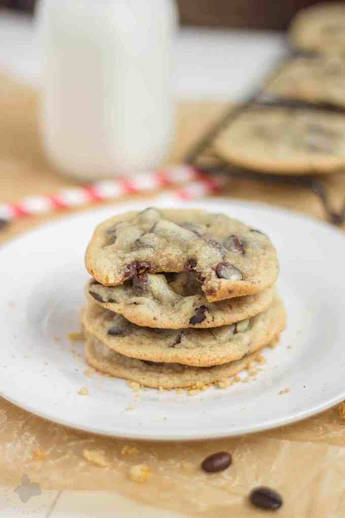 the outside, buttery and sweet, these Espresso Chocolate Chip Cookies ...