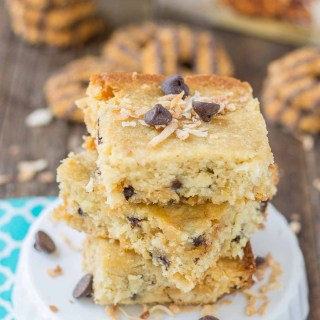 Pillsbury™ Girl Scout™ Baking Mixes: Caramel & Coconut Blondies and Thin Mints® Brownies