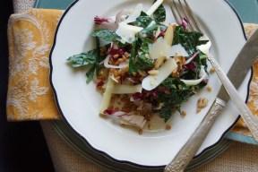 Kale & Wheat Berry Salad
