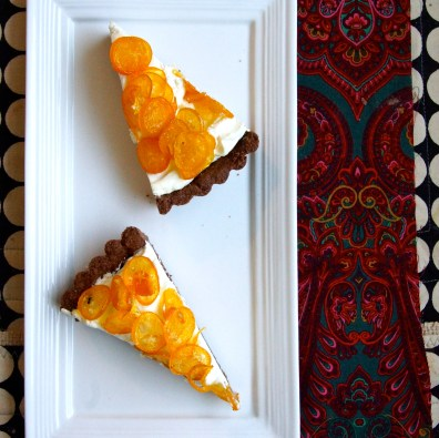 Candied Kumquat Tart