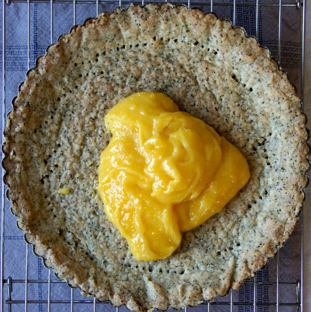 Lemon Curd & Earl Grey Shortbread Tart