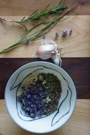 Lavender, Rosemary & Garlic Rub