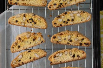 Citrus, Currant & Almond Biscotti