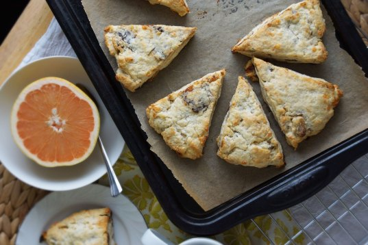 Gouda, Date & Walnut Scones