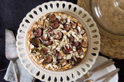 Almond, Ricotta & Fig Cake