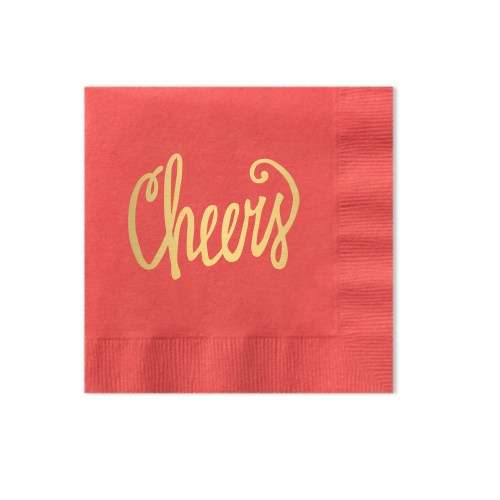 Medium Of Personalized Cocktail Napkins