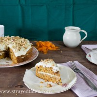Carrot Cake w Cream Cheese Icing Recipe