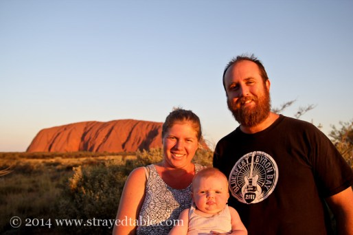 Alice Springs with a 6 month old