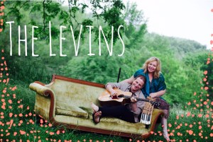 The Levins on Couch poster