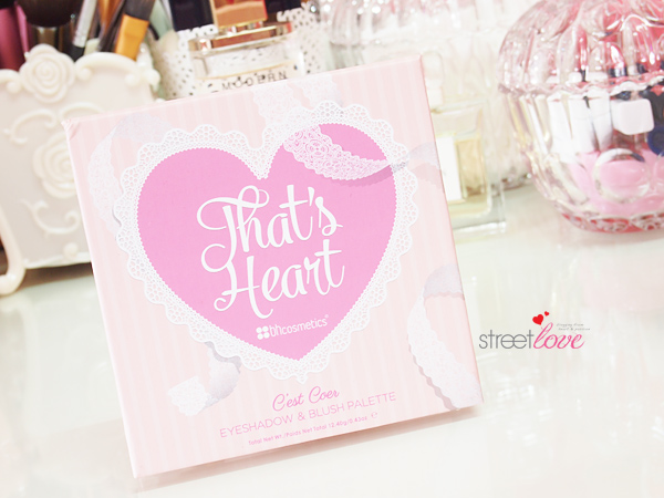 That's Heart Eyeshadow & Blush Palette v3