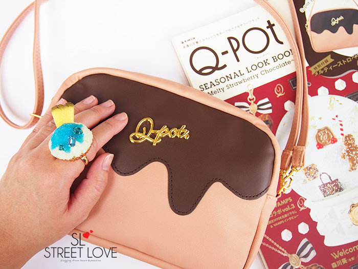 Q-pot Seasonal Look Book Melty Strawberry Chocolate 7