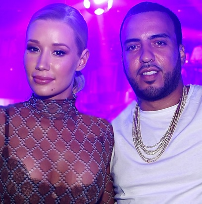 French Montana And Iggy Having Fun On Private Jet