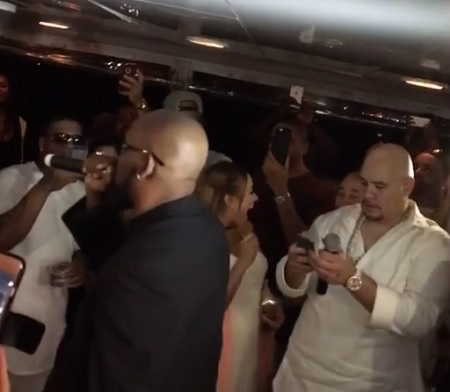 R.Kelly Performs At Fat Joe's B-day Party