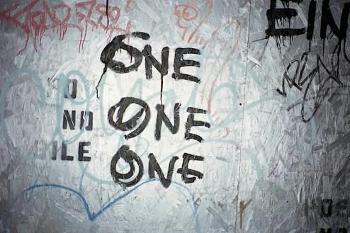 one one one graffiti