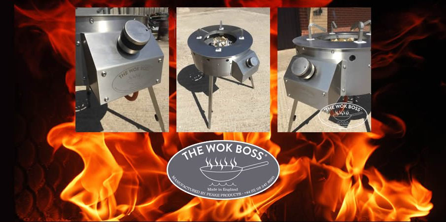 The Ultimate Portable Wok Cooker from The Wok Boss