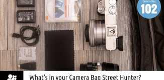 Inside Anastasios Takos' Camera Bag