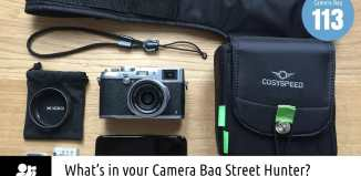 Jacint Juhasz's camera bag