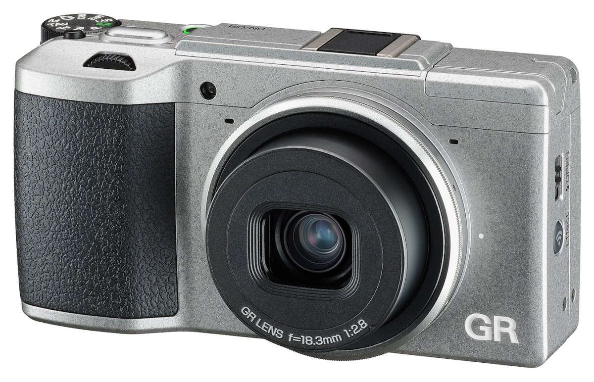 Just Look At This Ricoh GR II Silver Edition