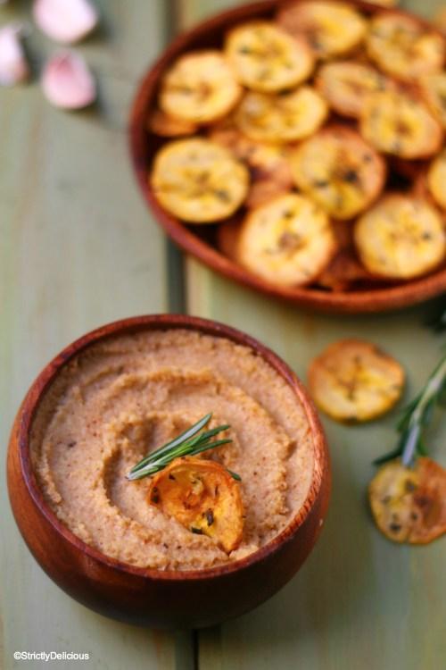 "Roasted Cauliflower ""Hummus"" {paleo, AIP, vegan} | StrictlyDelicious"