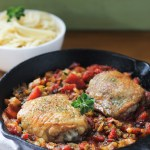 One-Skillet Italian Roasted Chicken and Vegetables | Strictly Delicious.com