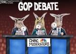 CNBC moderators GOP debate