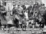 Obama Nazi police