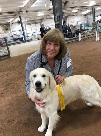 Jack and owner Susan Smith Kassas owner/handler
