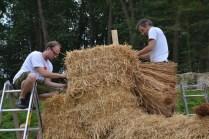 Herbert Gruber Strohballenbau Straw Bale Builder