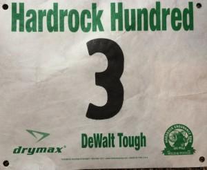 "I like my number. ""Dewalt Tough"" is in regard to John Dewalt, a race veteran who recently passed away."